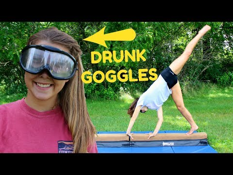 Trying Gymnastics with Drunk Goggles!