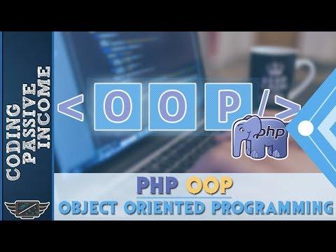 PHP OOP Tutorial - Object Oriented Programming [Part 1]
