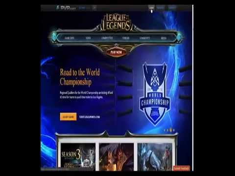 How To change Your password In League of Legends