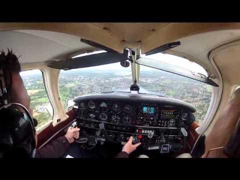ILS approach, Runway 15, Birmingham International
