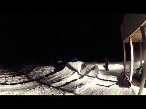 Snowboarding Backyard Edit