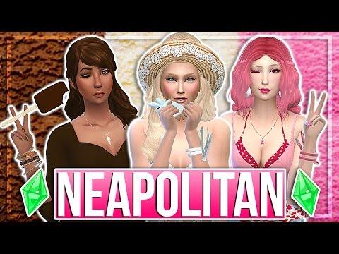 The Sims 4: Create a Sim | Neapolitan Ice Cream