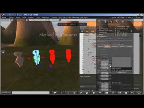 Make Animated Mesh model for Secondlife and Opensim with Blender -A VERY SLOW Blender Tutorial