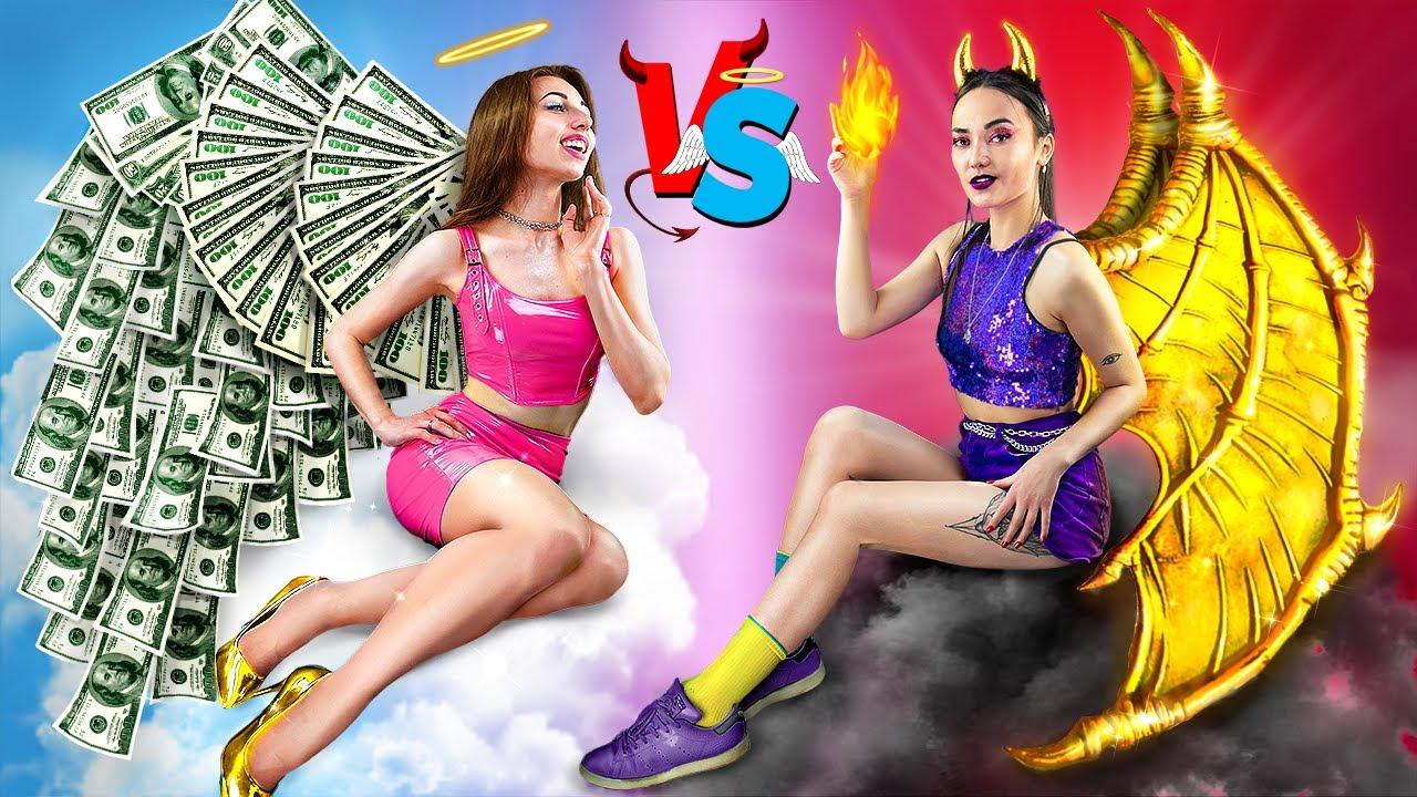Rich Good Girl vs Rich Bad Girl