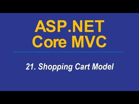 21. SHOPPING CART MODEL - Asp.Net CORE MVC