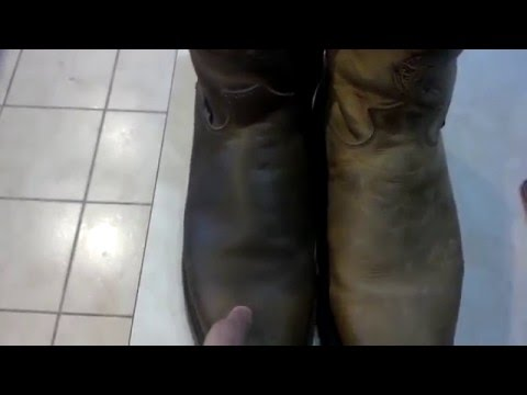 DIY Leather Work Boot Conditioner