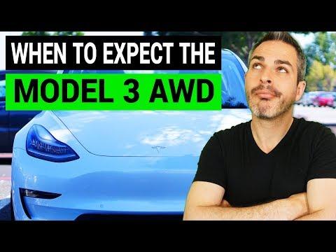Tesla Model 3 AWD Dual Motor is Almost Here!
