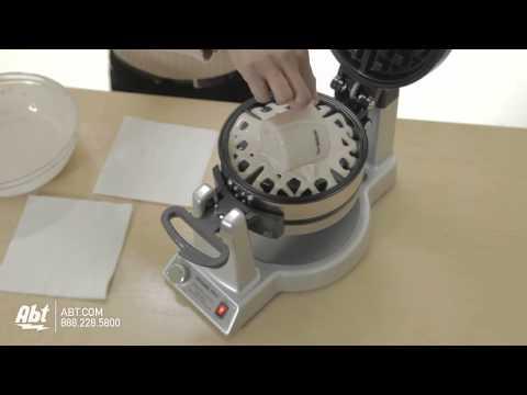 Waring Pro WMK600 Professional Double Waffle Maker : Waring at Abt Electronics