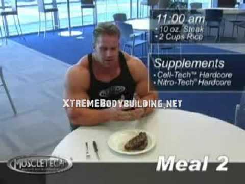 Jay Cutler Mass Building Meals