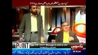 Fight btw PTI Imran Ismail & PML-N Siddiqui Al Farooq during Shahzeb Khanzada talk show