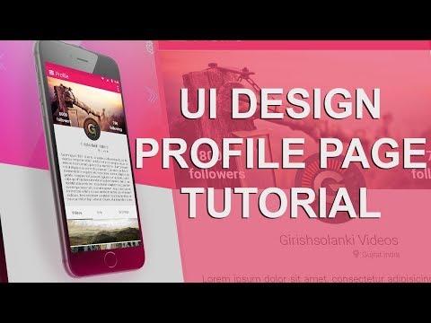 Photoshop Tutorial Google Material Design (App Design)   How To Design a Mobile App