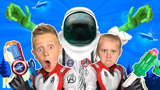 The Aliens are Coming Back! The Full Kids Adventure (So Far) | KIDCITY