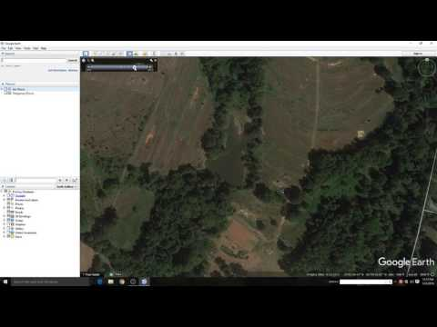 How to find good ponds on Google Earth