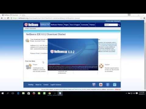 Install NetBeans IDE on Windows 10