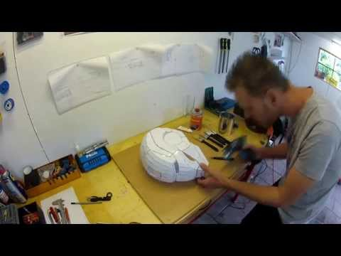 ironman helmet fibreglass stage