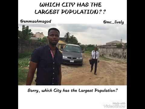 Mc Lively and Emmaohmagod - Which City Has The Most Population in The World Cover