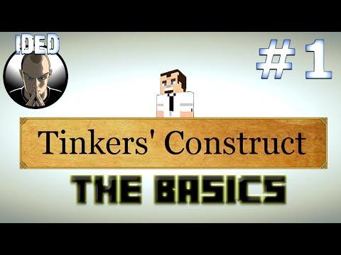 Tinkers Construct Tutorial - The Basics - Minecraft Mod