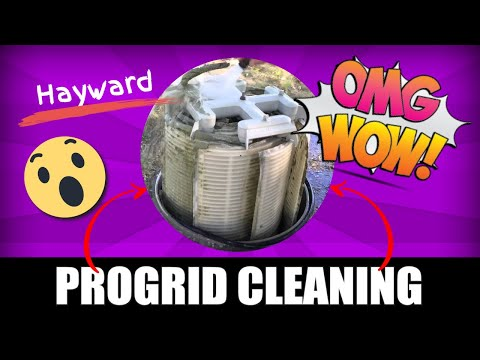Hayward PROGRID 4820 Filter Grid Cleaning