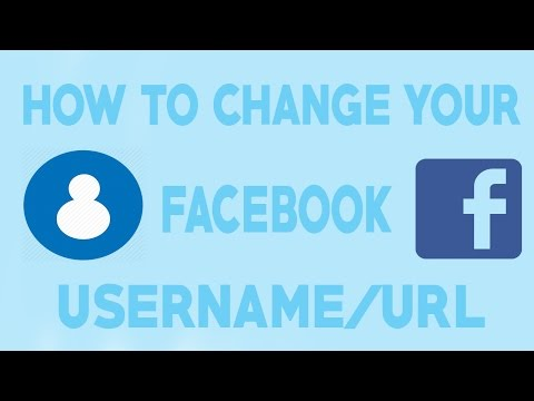 How To Change Your Facebook Username/Url - 2018