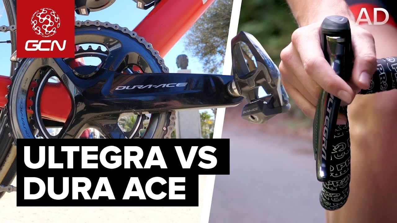 Shimano Dura-Ace Vs Shimano Ultegra | What's The Difference