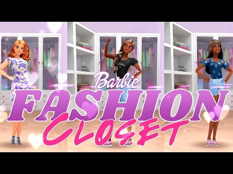 Barbie Fashion Closet:  Spring Fun | ALL NEW Spring Fashion