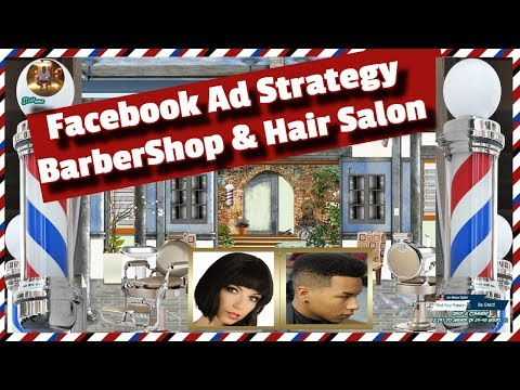 facebook ads for barber shop and Hair salon