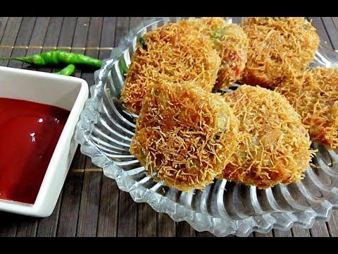 Chicken Pasta Cutlets | Russian kabab