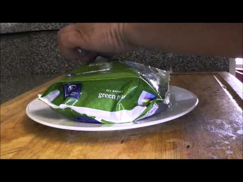 How to cook  Frozen Veggie in Microwave, no extra water Easy, Simple
