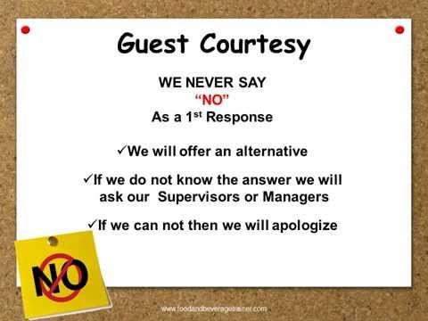 Customer Service - 5 Star Service Standards