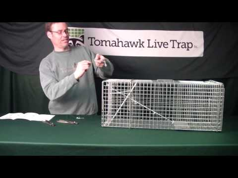 Adjusting Trigger Sensitivity and Trip Pan Height on a Tomahawk Live Trap