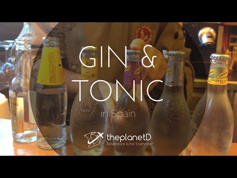 Making the Perfect Gin and Tonic in Spain