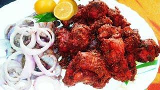 Tandoori Chicken Tikka Recipe Video - How To Make Tandoori Chicken Tikka Recipe