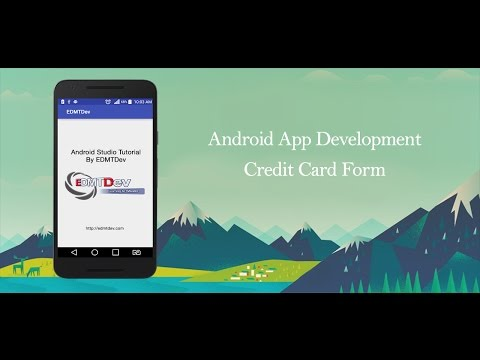 Android Studio Tutorial - Credit Card Form