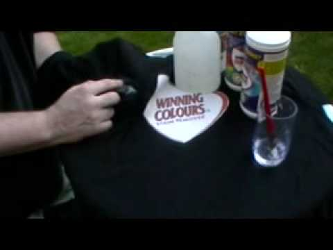 1000+ Stain Remover (Winning Colours) removing oil base paint from shirt