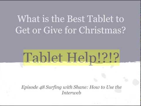 What is the best Tablet? iPad, Surface, Nexus, Galaxy or Kindle Fire HD