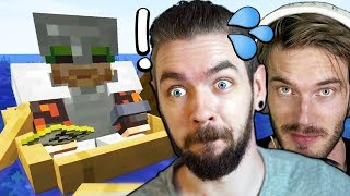 We're Really Good At Minecraft w/pewdiepie