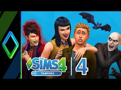 The Sims 4 Vampires Let's Play - Part 4