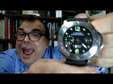 LIVE UNBOXING Panerai Luminor Submersible PAM 24 - ARCHIE GETS A PAM