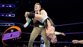 Kalisto vs. Gentleman Jack Gallagher: WWE 205 Live, Dec. 12, 2017