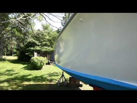 How to properly clean, compound and wax your boat!