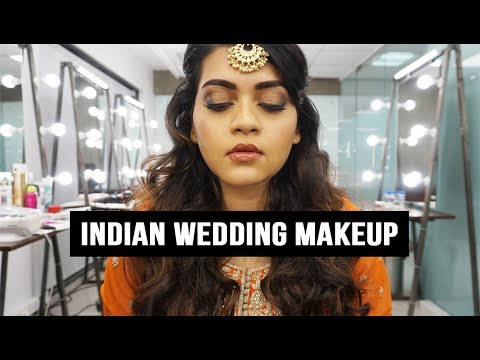 EASY Indian Wedding Makeup // Fat Mu