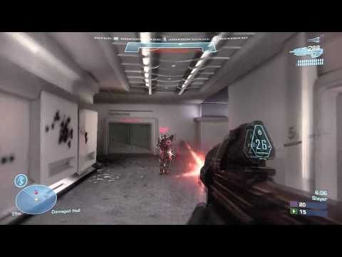 Halo Reach: Multiplayer Slayer on Sword Base FULL HD!  EPIC GAME FOOTAGE!
