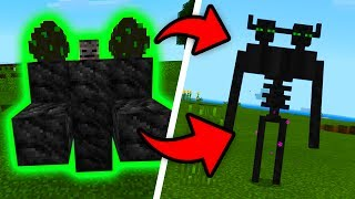 How To Spawn MUTANT ENDERMAN in Minecraft Pocket Edition (Mutant Enderman Addon)