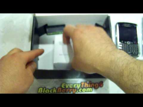 Sprint Blackberry Tour 9630 Unboxing