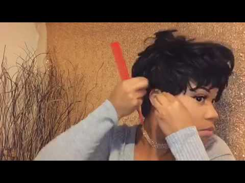 How to make a short wig look Natural