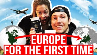 FLYING TO OUR FIRST STOP ON OUR ADVENTURE OF A LIFETIME!! | Shawn + Andrew