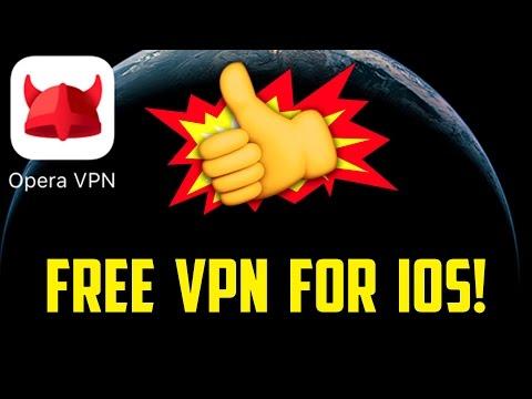 FREE VPN FOR IOS! (Opera VPN)