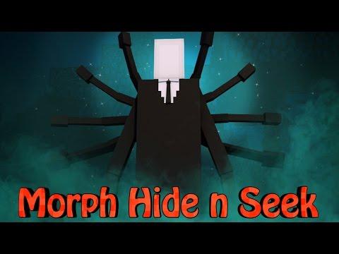 Minecraft Mods | MORPH HIDE AND SEEK - SLENDERMAN MOD!