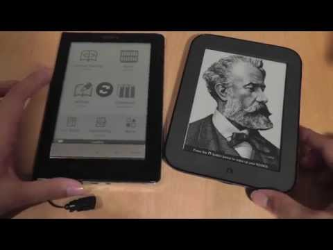 Nook Touch vs. Sony Reader (PRS-600) Comparison: