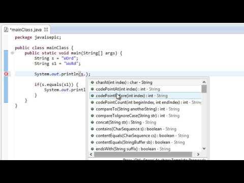 Java Programming - 44 - String Methods